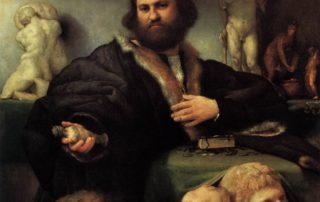 Lorenzo Lotto, Portrait of Andrea Odoni at wga.hu