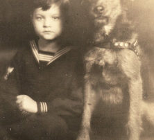 Orson Welles as a child, at http://michigantoday.umich.edu/a8480/